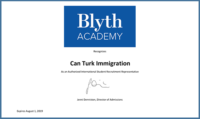 Blyth Academy School Enrollment Official Canada Canturkimmigration Turkey