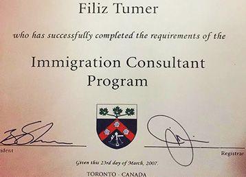 YORK COLLEGE Immigration Consultant Diploması Kanada Canturk