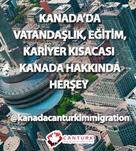 Canturm immigration Kanada vatandaşlık instagram hesabı